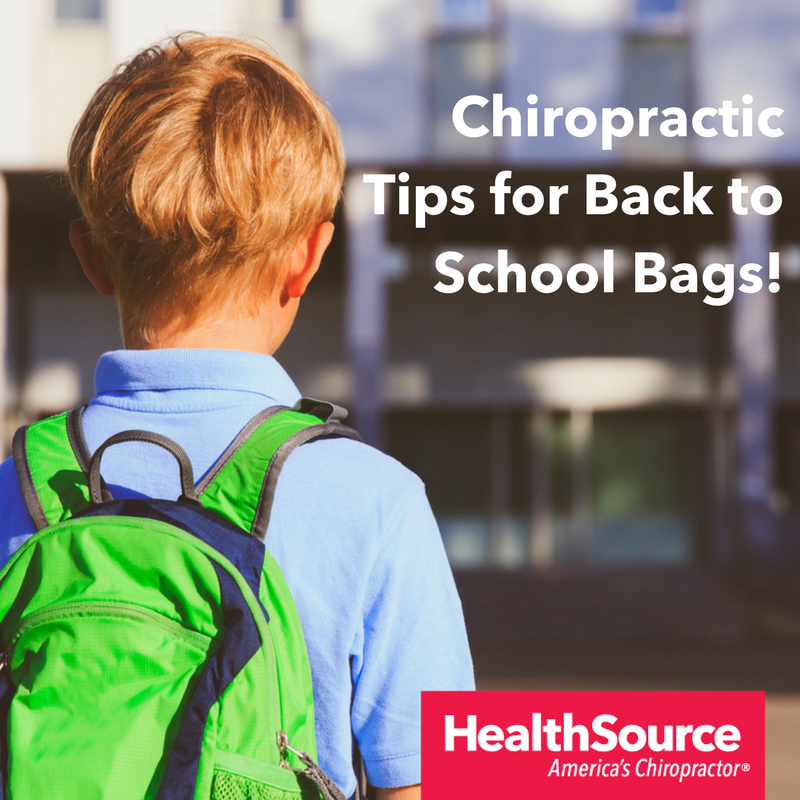 Chiropractic Tips for Back to School Bags!.png